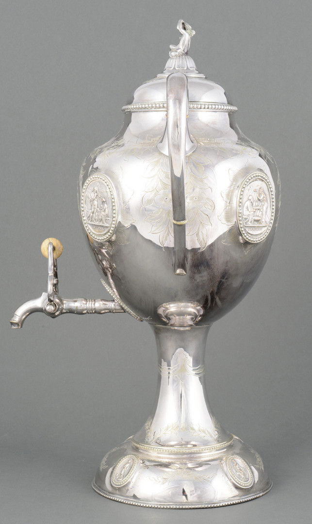 Lot 694: Victorian Hot Water Urn