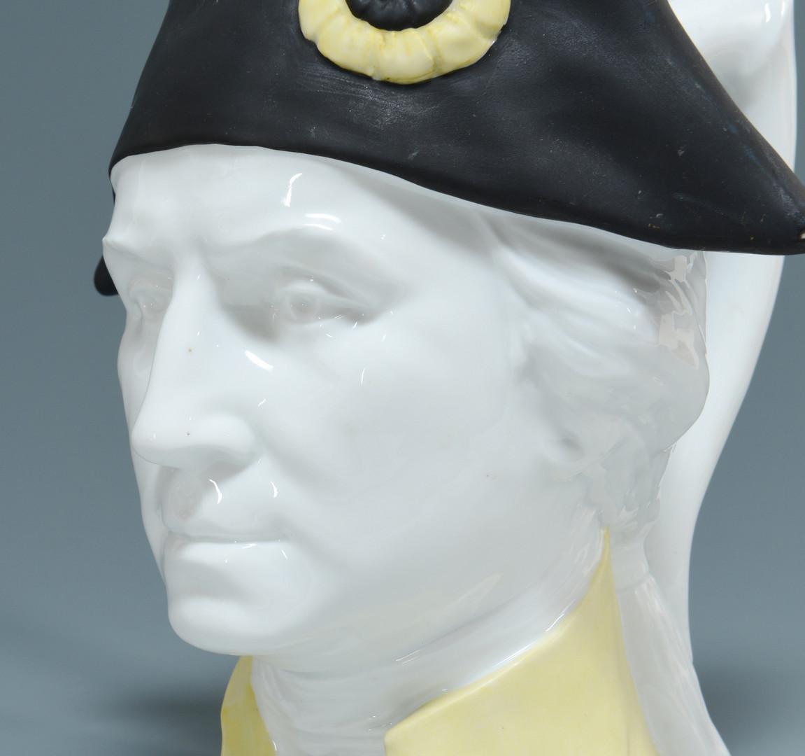 Lot 696: George Washington Figural Jug