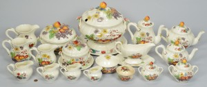 Lot 699: Copeland Spode Reynolds Serving Pieces