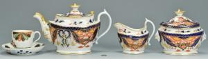 Lot 700: Dr. Wall Fan cup plus English Tea Service