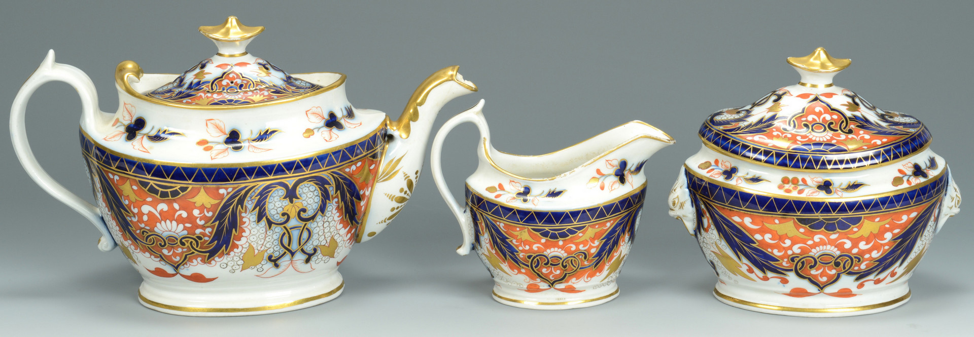 Lot 700: Dr. Wall Fan cup plus English Tea Service