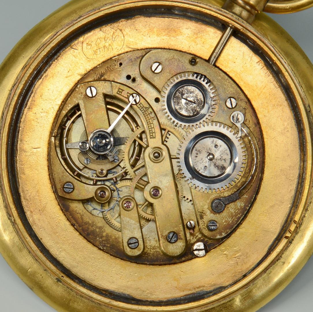 Lot 708: Cartier Watch & French Ball Clock