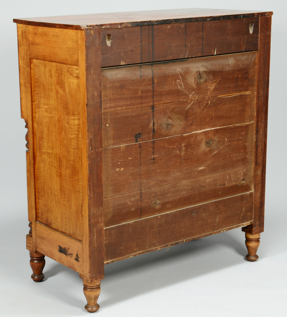 Lot 714: Tiger Maple Chest / Sideboard