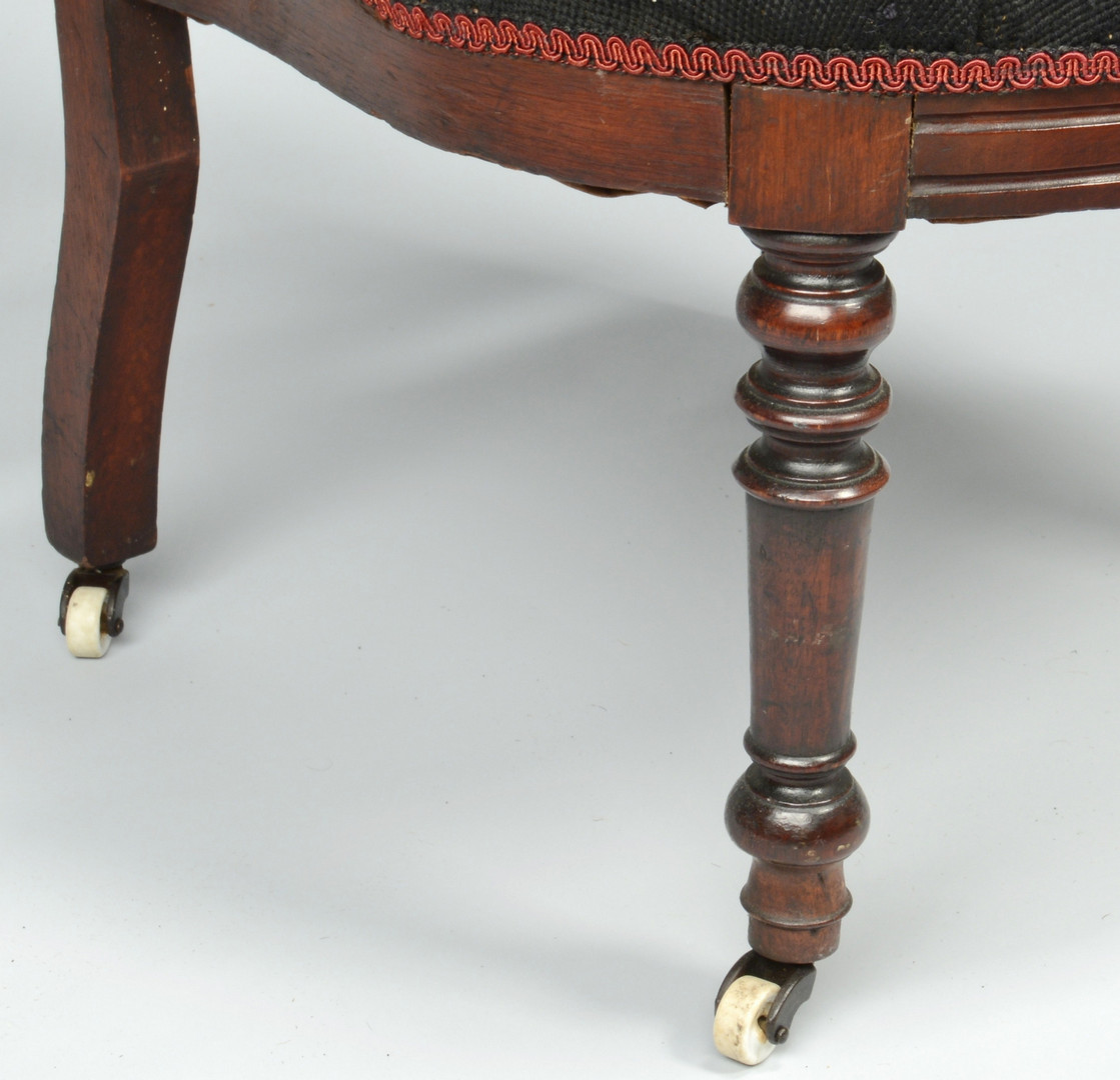 Lot 719: Two Gothic Revival Chairs