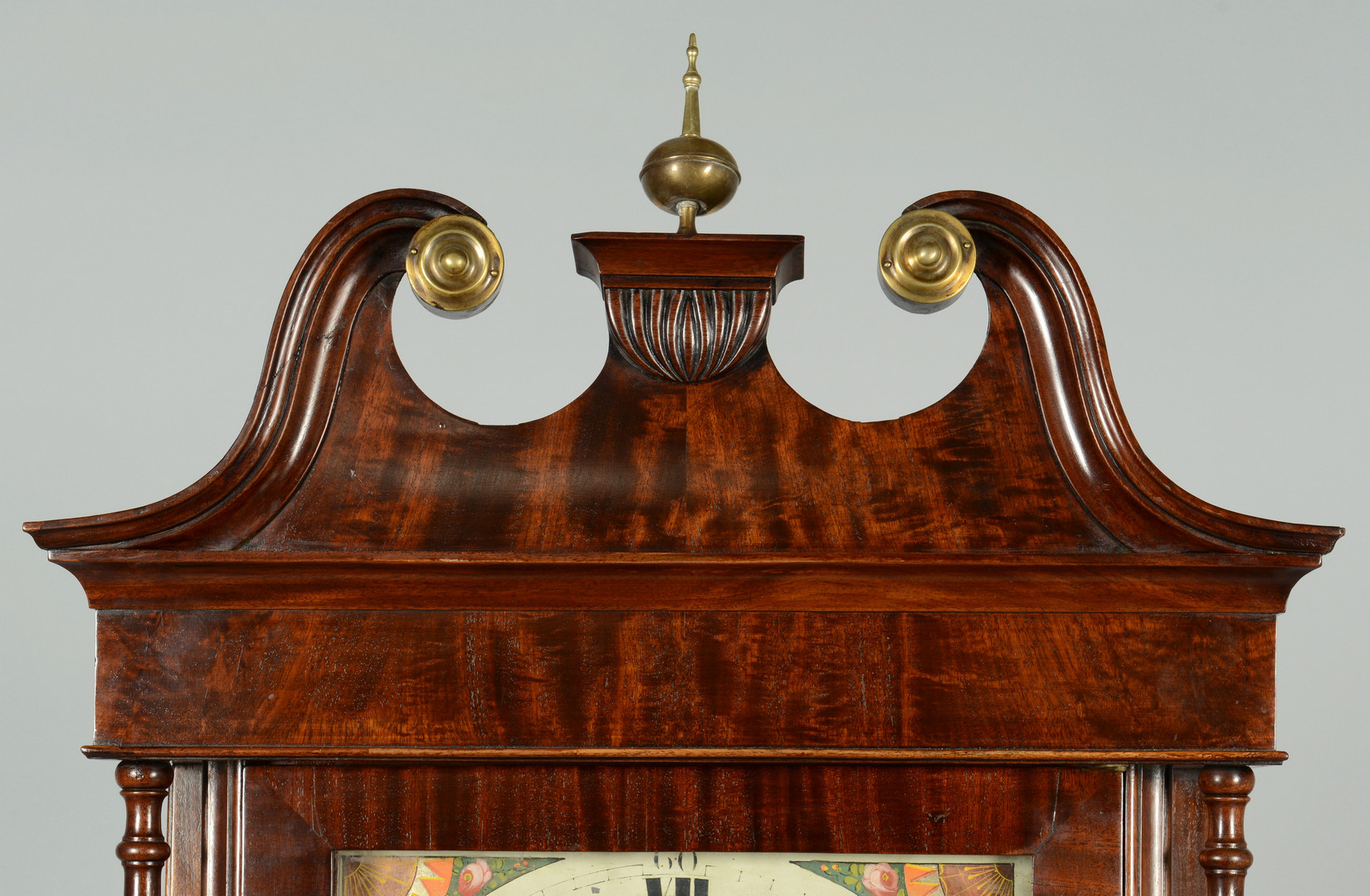 Lot 720: Tall Case Clock, circa 1825