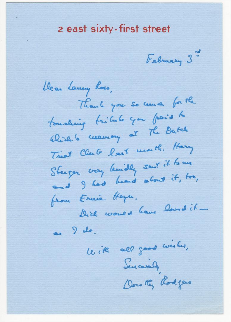 Lot 730: Letters/Autographs of Celebrities