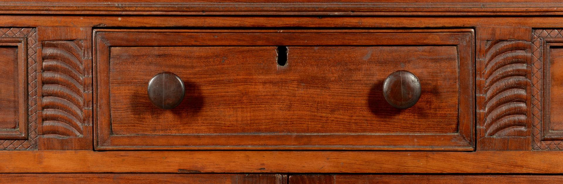 Lot 73: East TN Corner Cupboard, illust. Art & Mystery