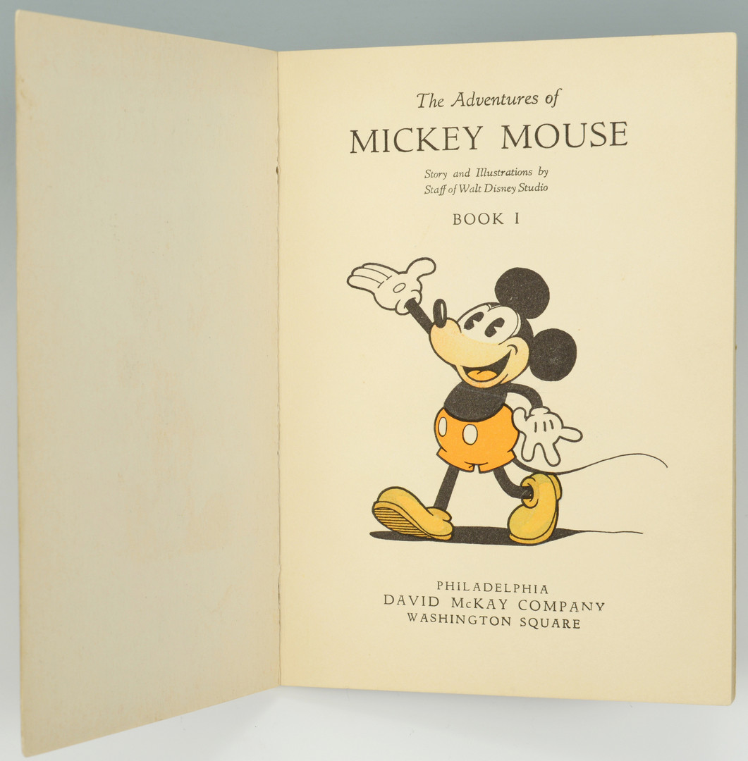 lot 744 mickey mouse book disney studio christmas cards