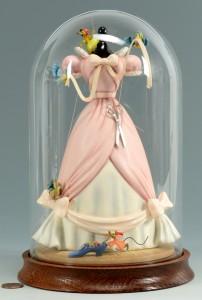 Lot 747: Disney Cinderella Dress Figurine