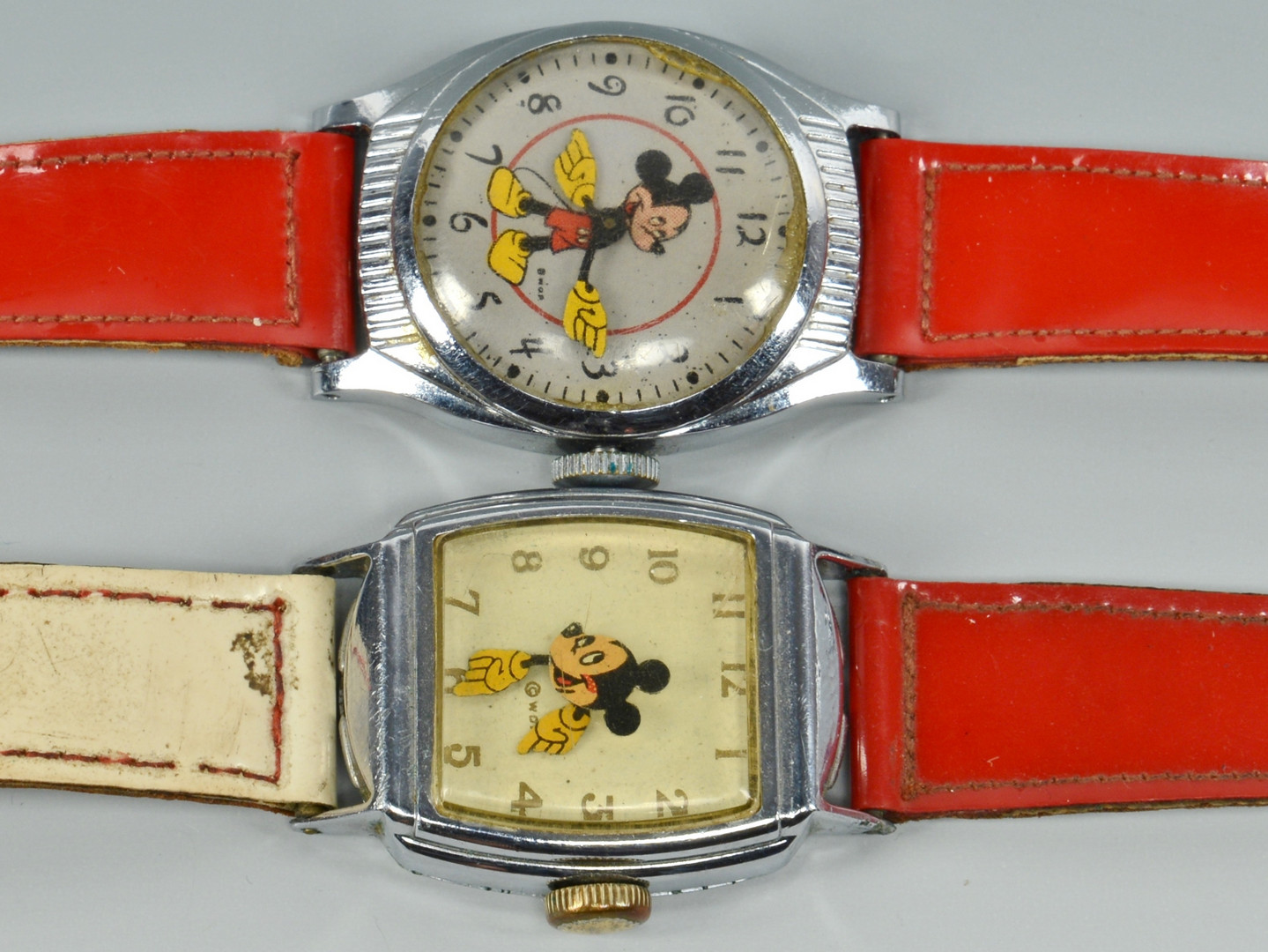 Lot 749: 7 Vintage Walt Disney Watches