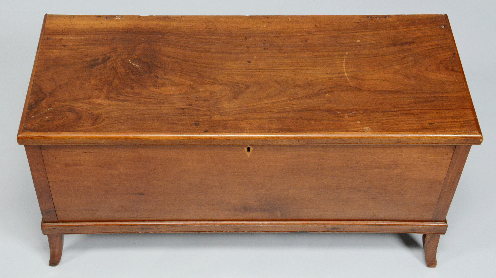 Lot 74: TN Walnut Blanket Chest attrib. Jacob Fisher