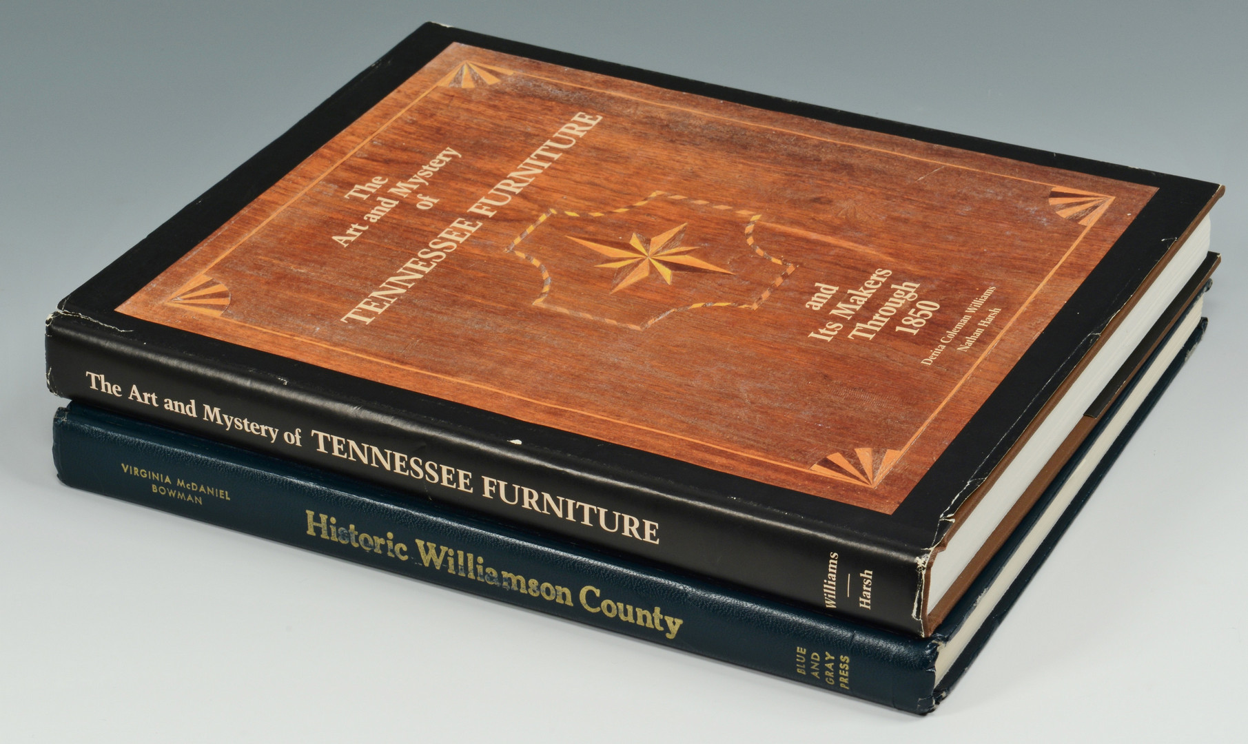 Lot 76: 2 TN Books incl. Art & Mystery of TN Furniture