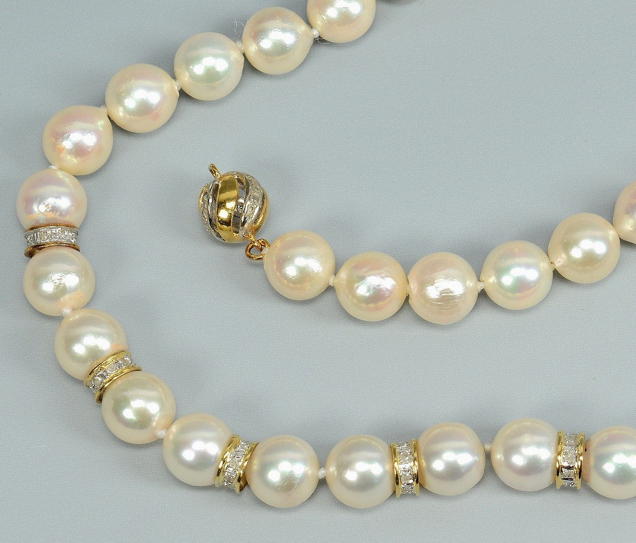 Lot 777: Group of 14k Beaded Jewelry