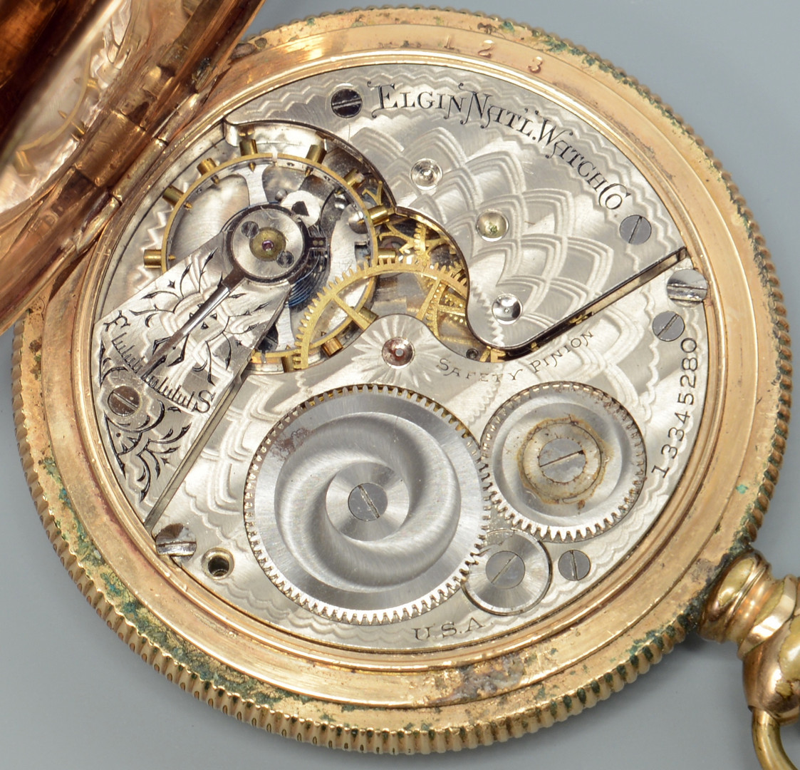 Lot 779: 2 Elgin Pocket Watches