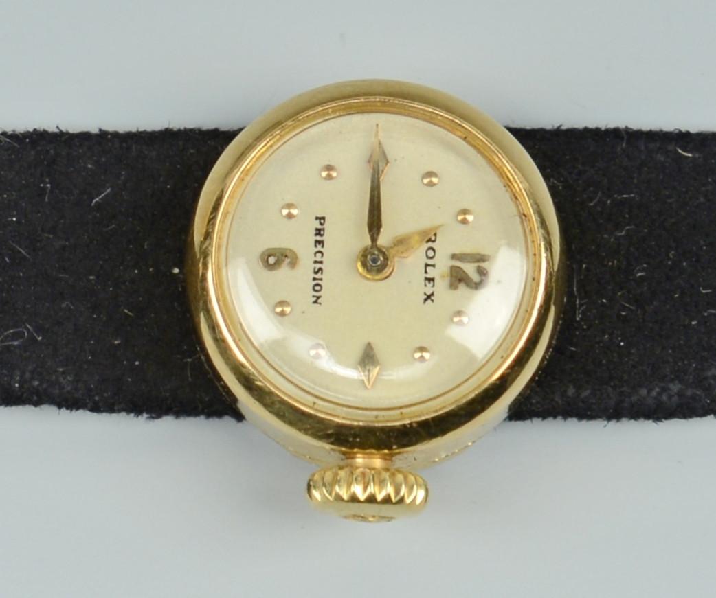 Lot 781: Rolex Ladies Watch w/ interchangeable bands
