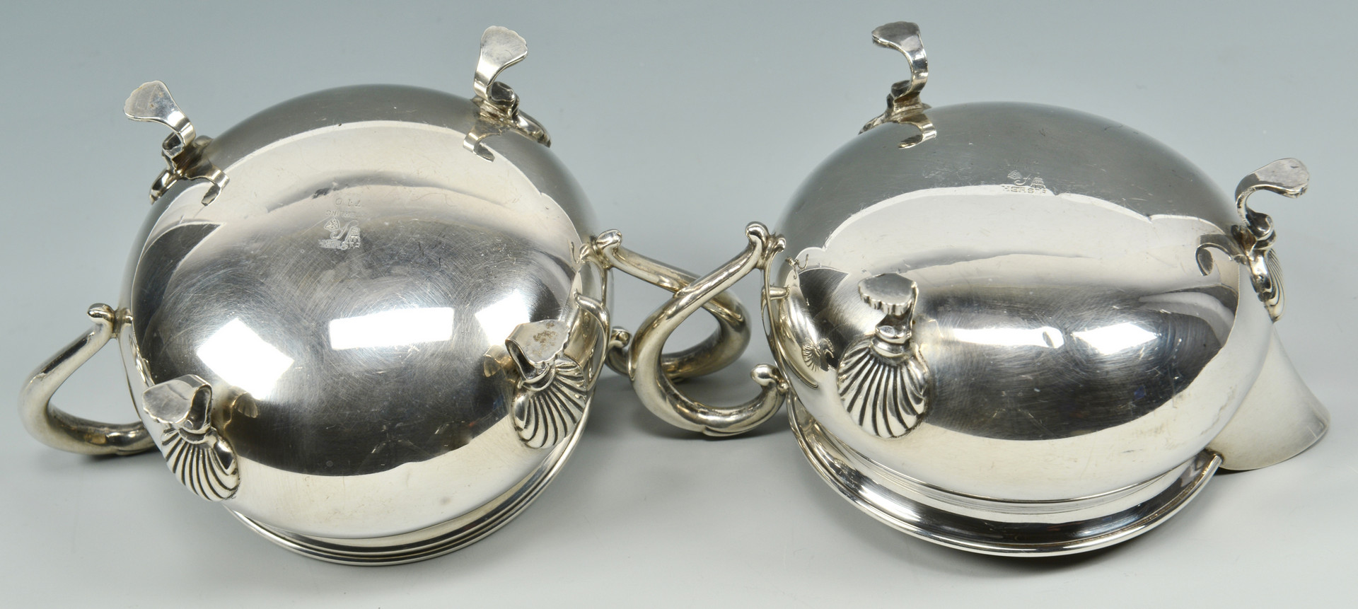 Lot 786: 33 pcs American and German silver