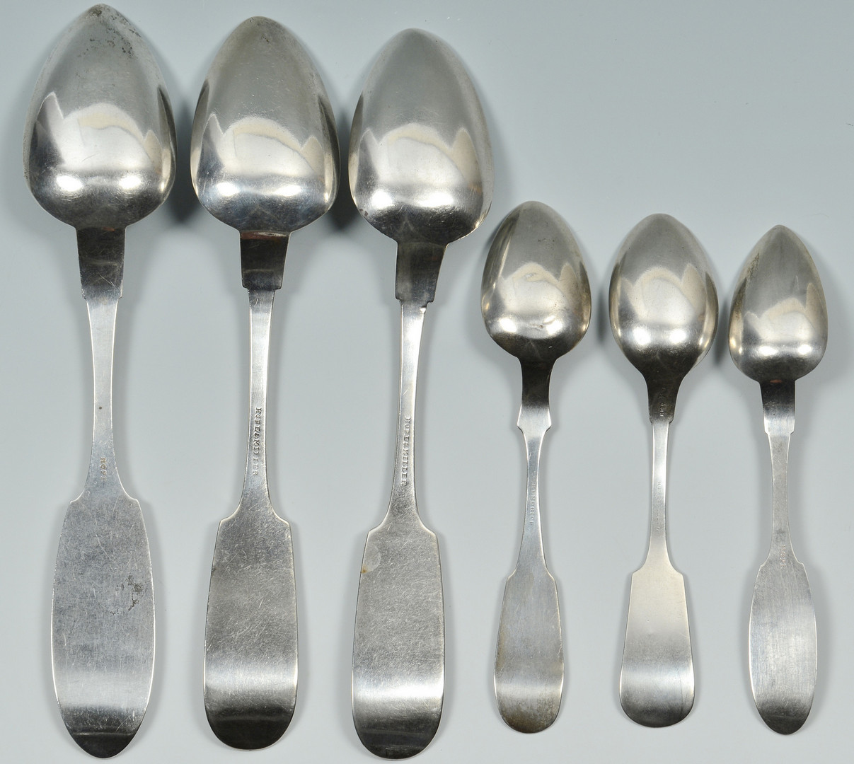Lot 80: 6 TN, KY Coin Silver Spoons, Hope