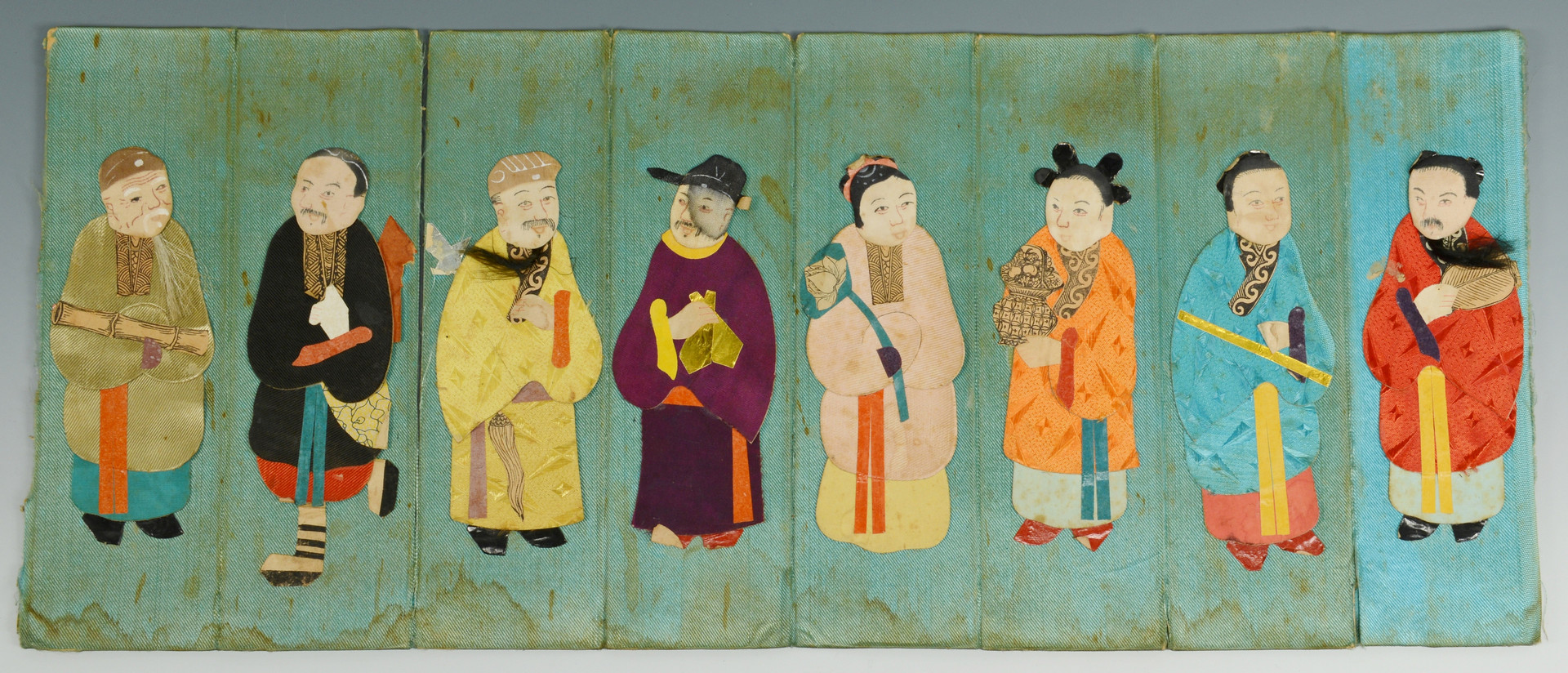 Lot 815: Group of Chinese Textiles, 9 items