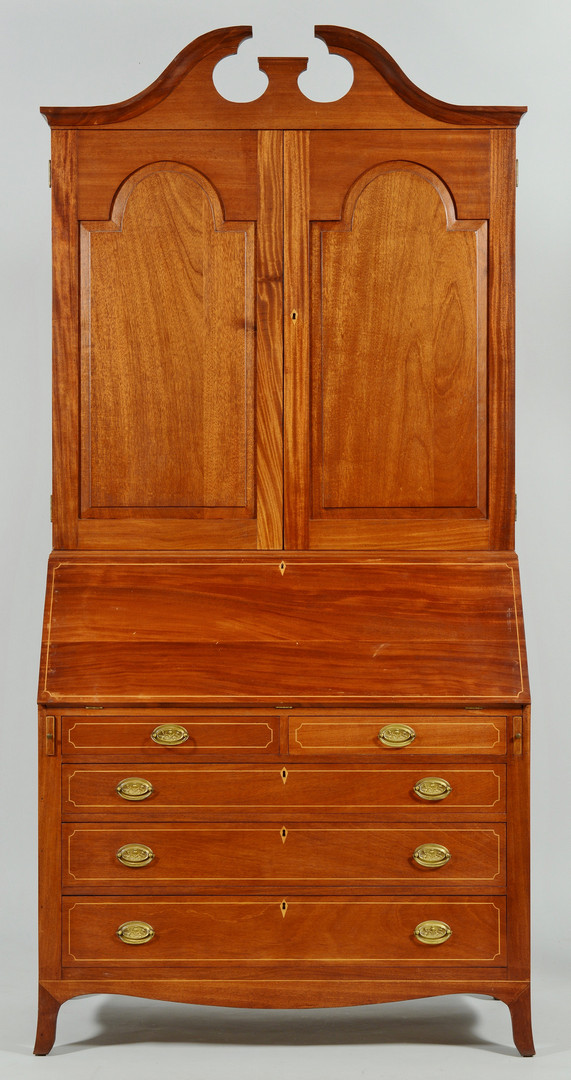 Lot 825: Federal style Secretary, Vincent