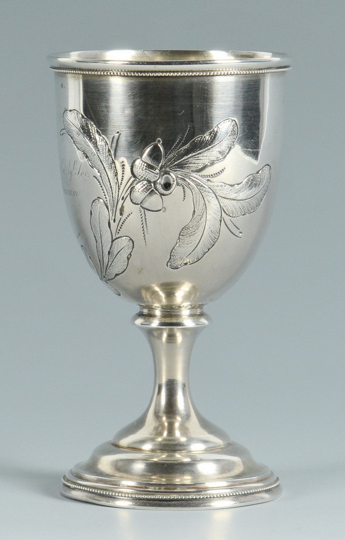 Lot 82: Montgomery Co. Agricultural Goblet
