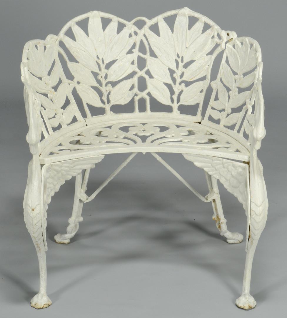 Lot 832: Hart (Atlanta, GA) Garden Chair