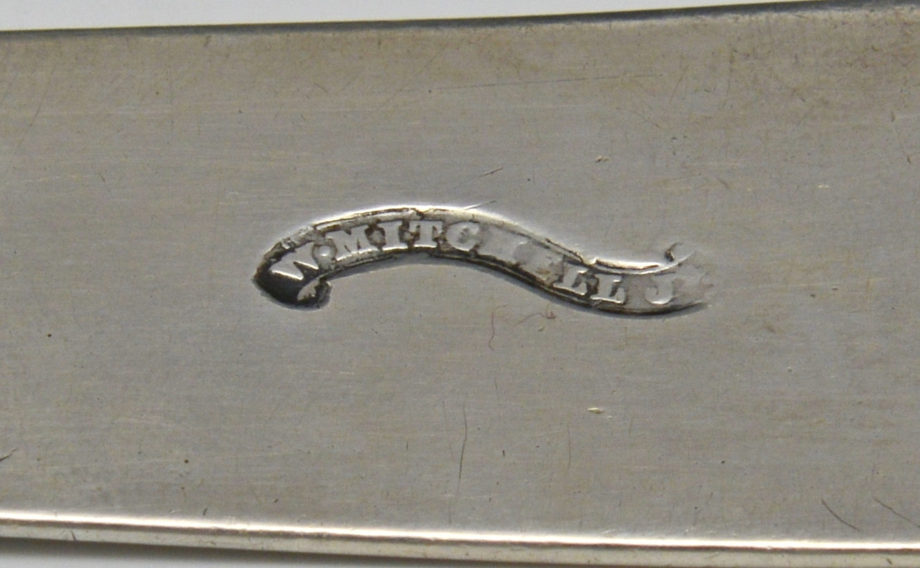 Lot 84: Virginia Coin Silver Punch Ladle
