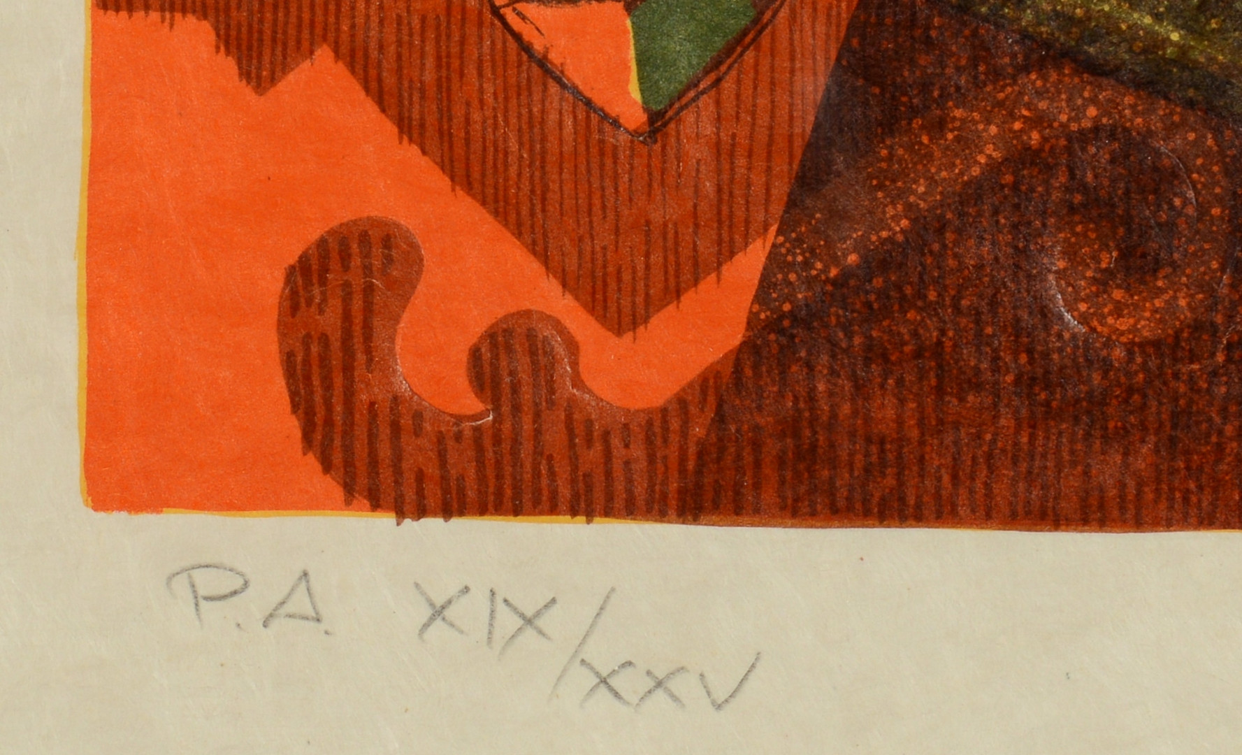 Lot 863: Two Alvar Embossed Lithographs, Artist Proof