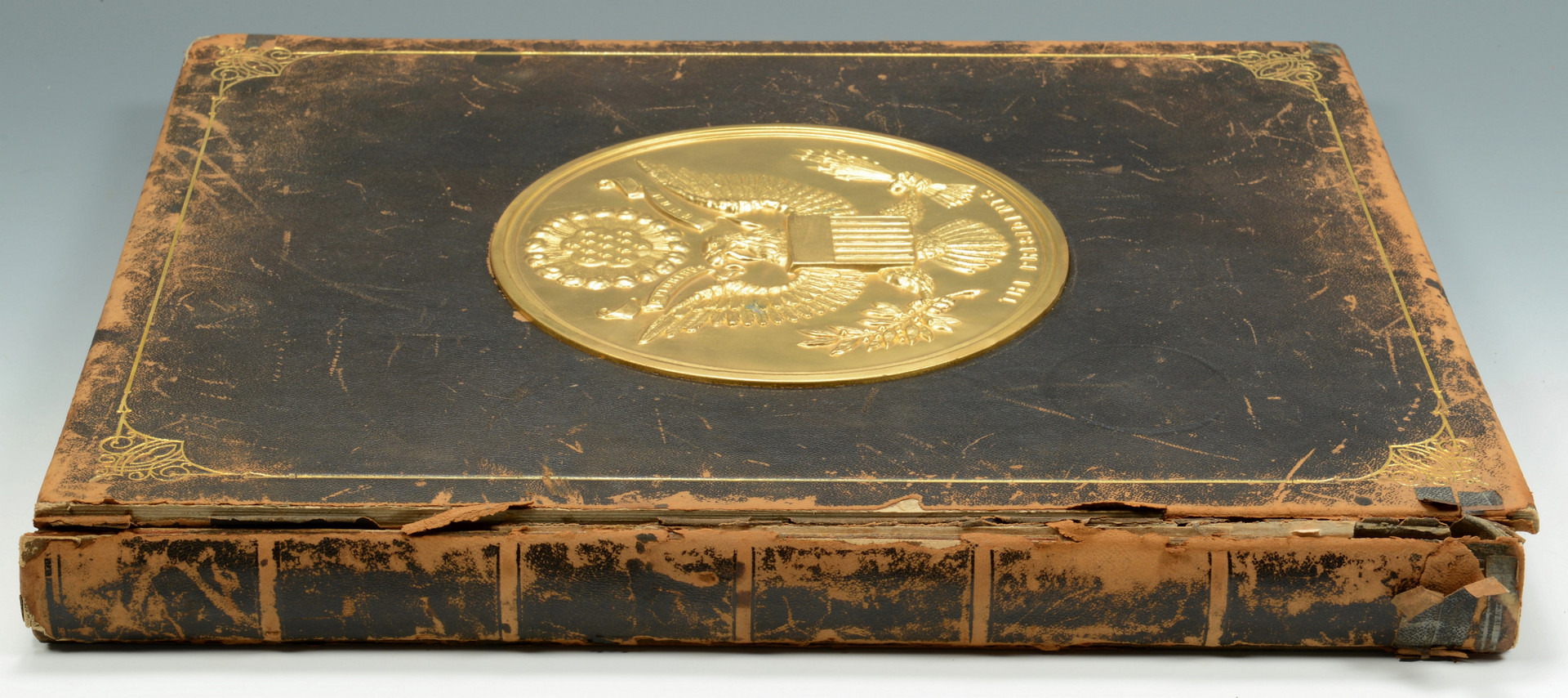 Lot 869: Large folio book, The Presidents