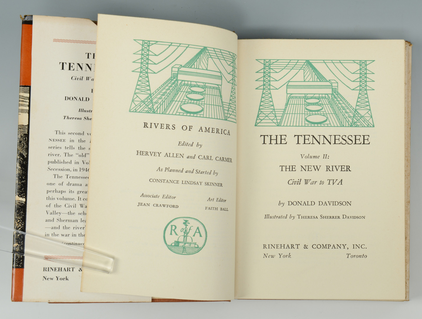 Lot 871: Grouping of three (3) Books, 1st ed