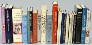 Lot 874: Group of 21 books on Antiques