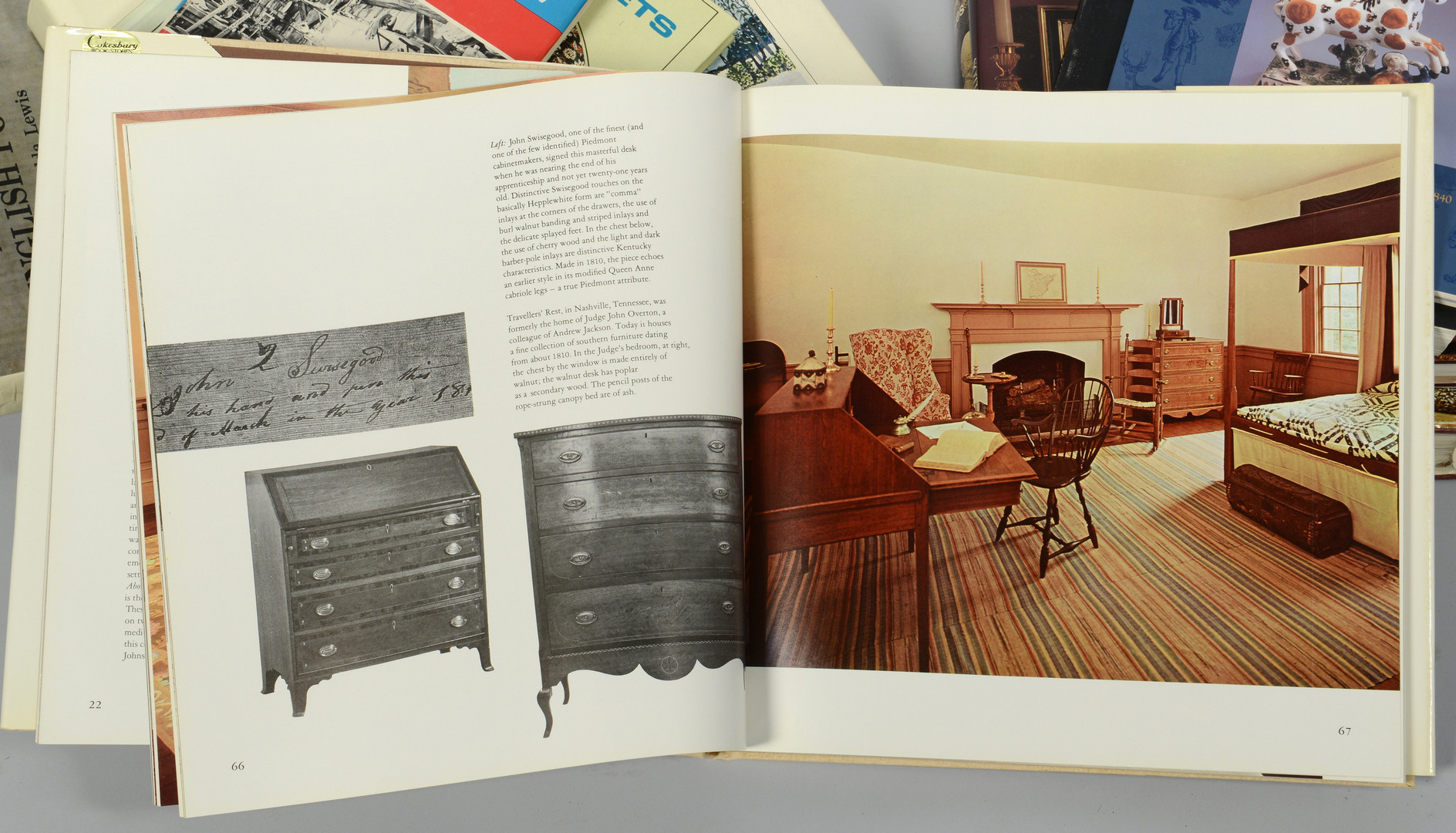 Lot 875: Group of 12 books on Antiques and Art