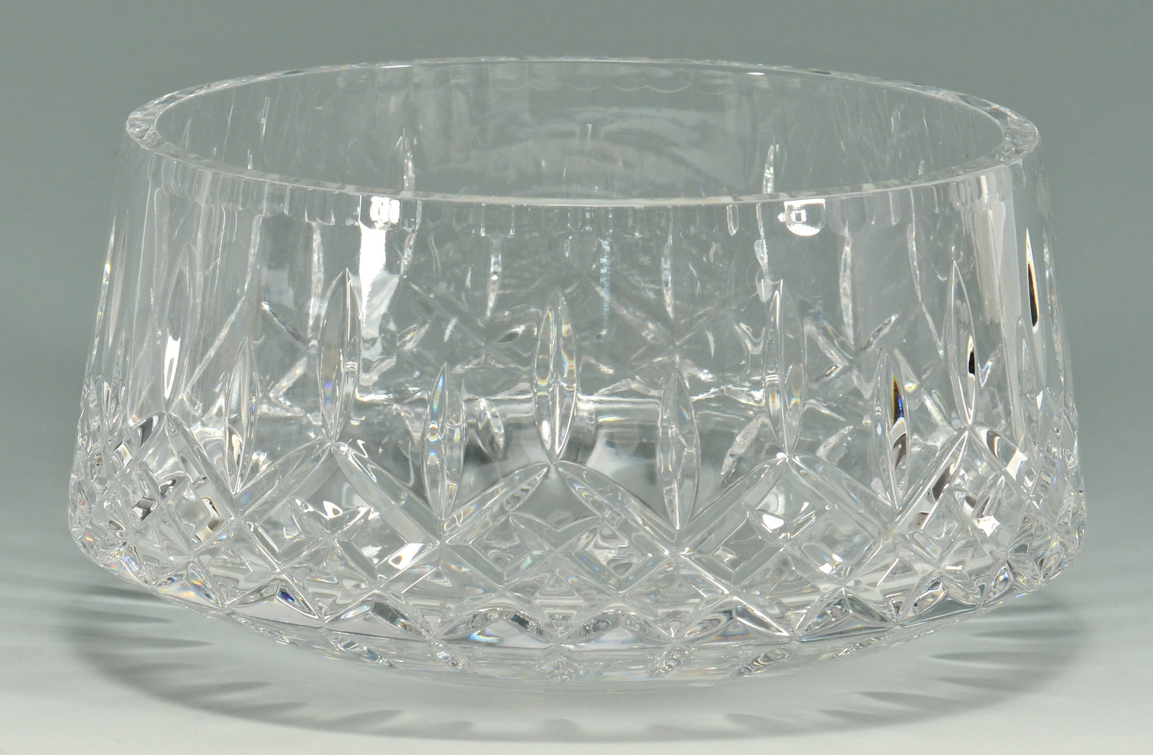 Lot 878: Grouping of 4 Crystal Bowls, 3 Orrefors