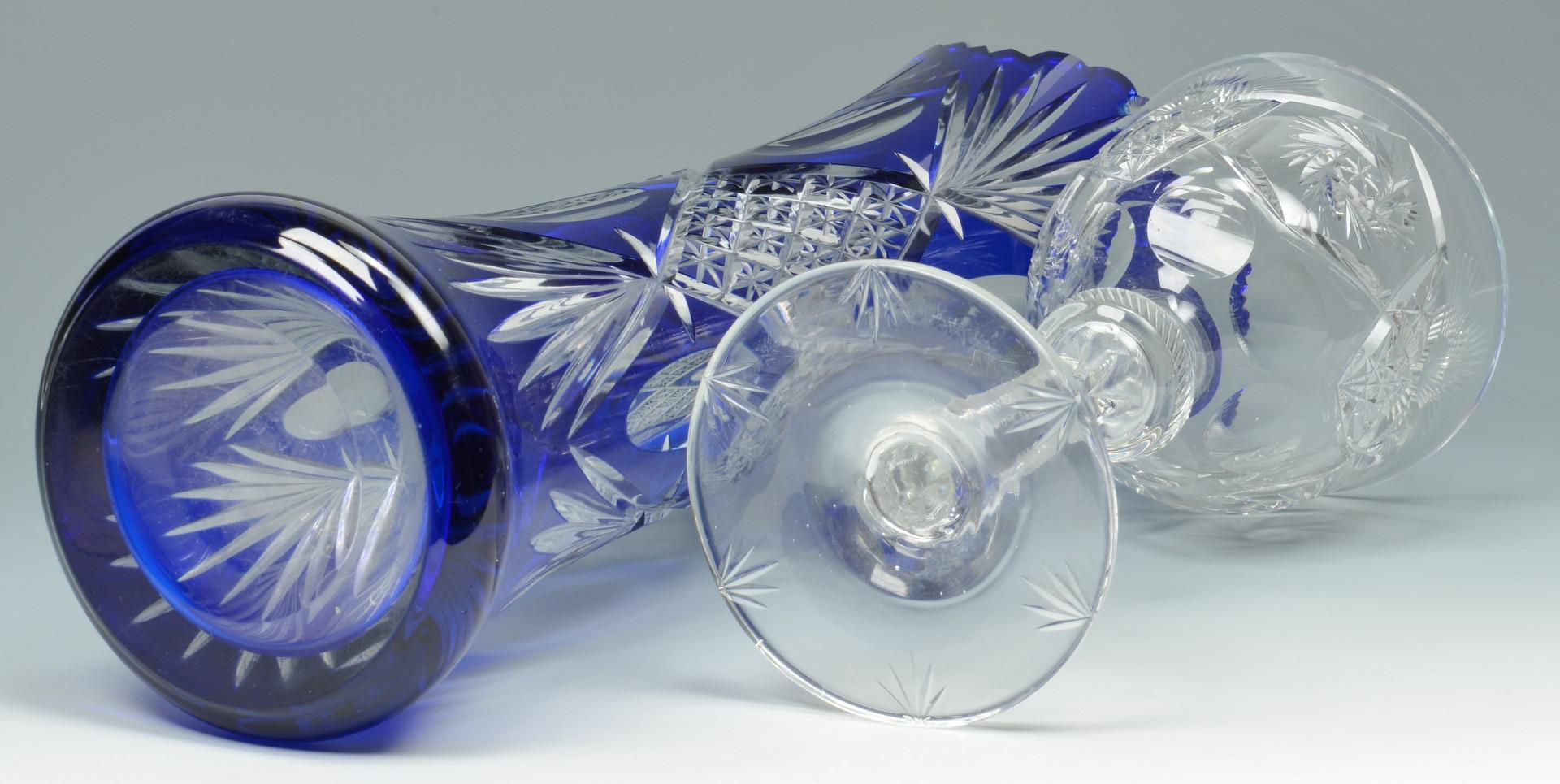 Lot 881: 4 Articles of Brilliant Cut Glass