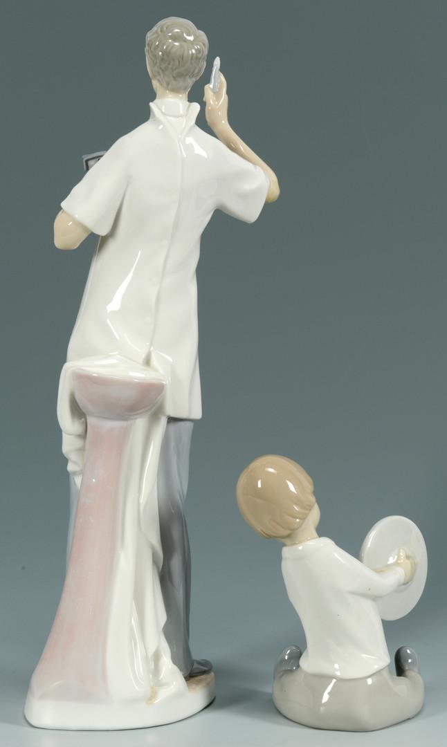 Lot 894: 2 Lladro Porcelain Figures