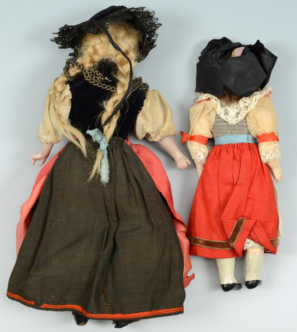 "Lot 895: Collection 18 dolls, 1-1/2""-9"" H"
