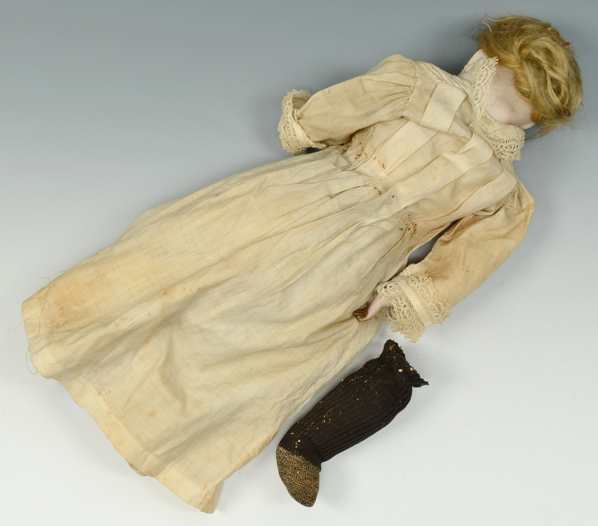 Lot 900: 3 French Dolls, female and male