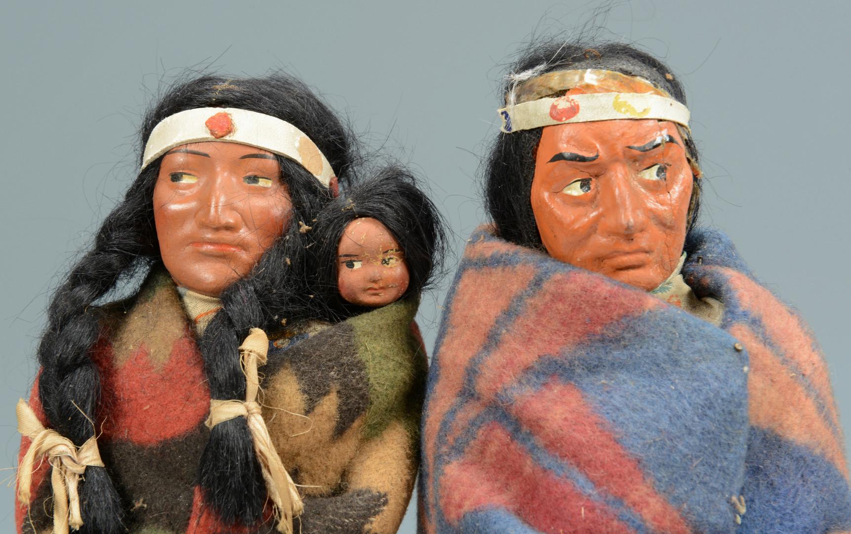 Lot 903: Grouping of 4 Skookum Dolls