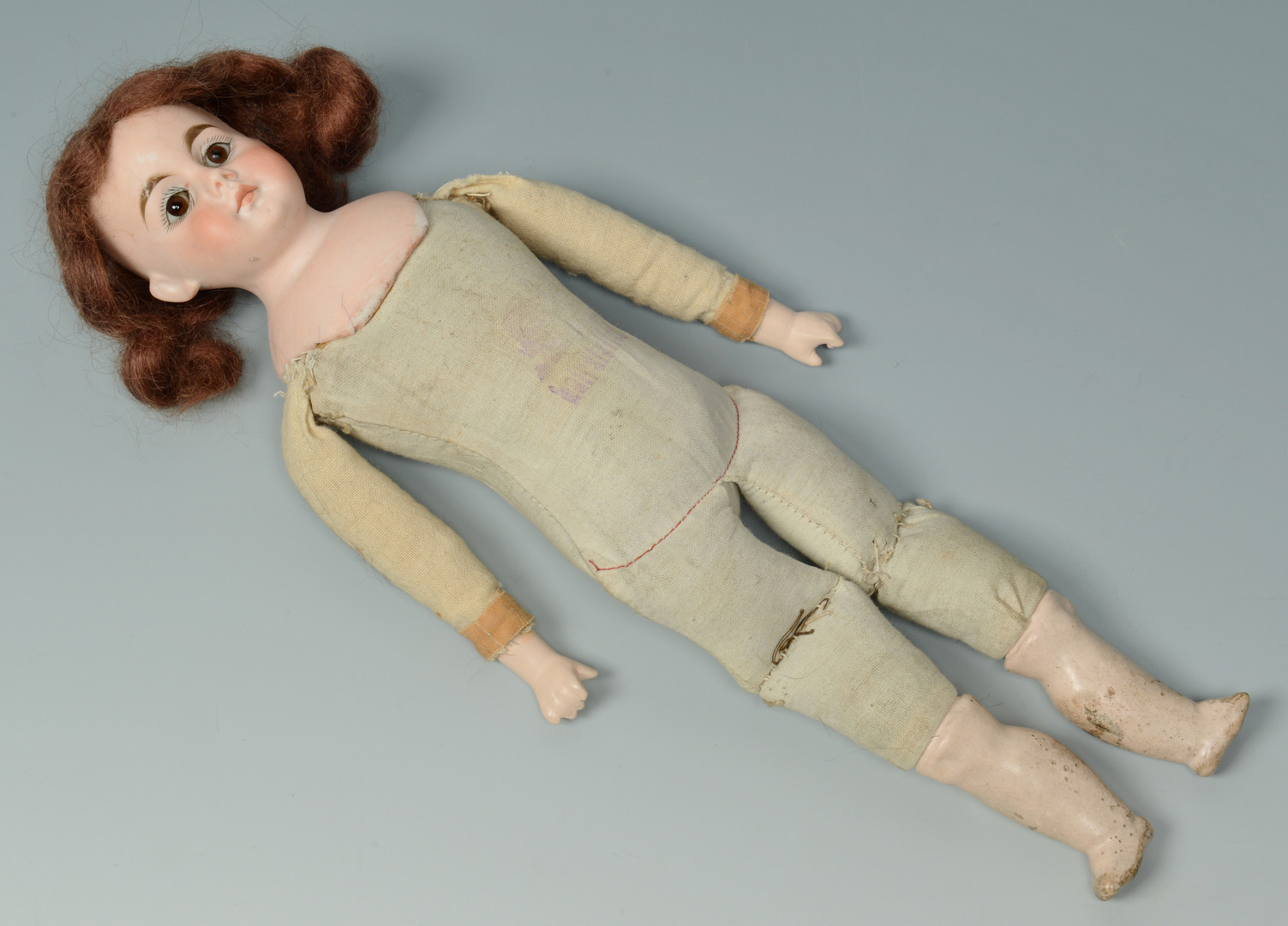 Lot 905: 2 Bisque Dolls, Belton & German