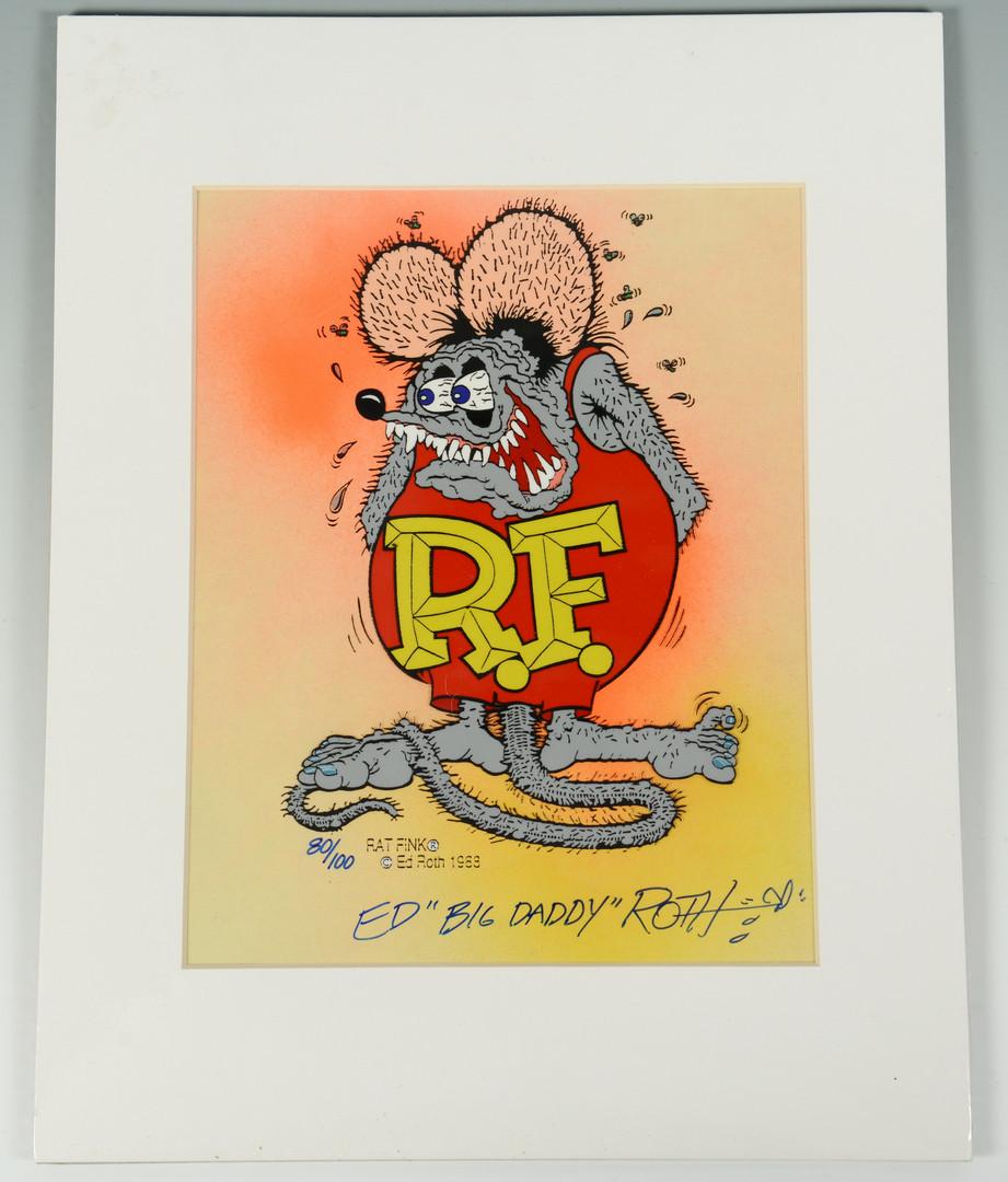 Lot 910: 4 Disney / 2 Raggedy Ann & Andy Production Cels