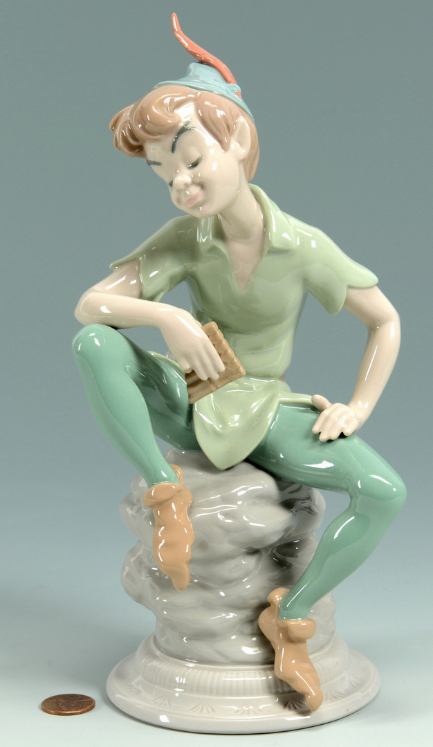 Lot 914: Lladro Peter Pan Figure