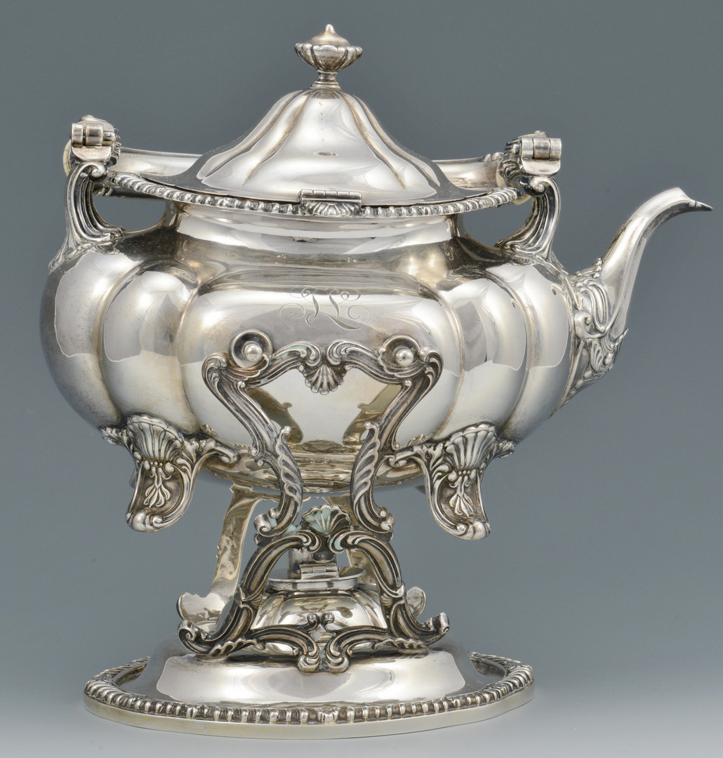 Lot 91: Gorham Sterling 6 pc.Tea Service
