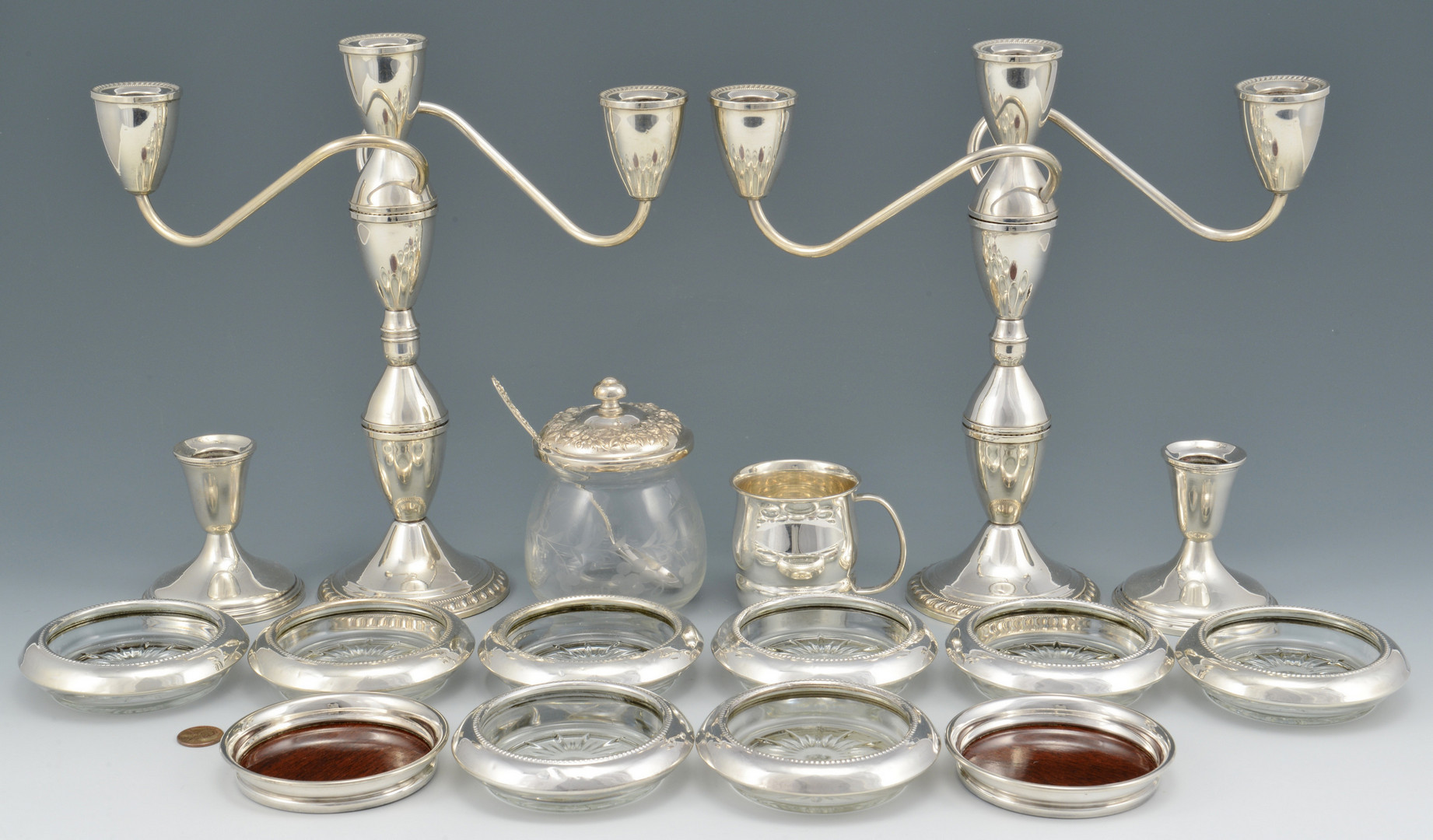 Lot 922: Group of Sterling Silver Items