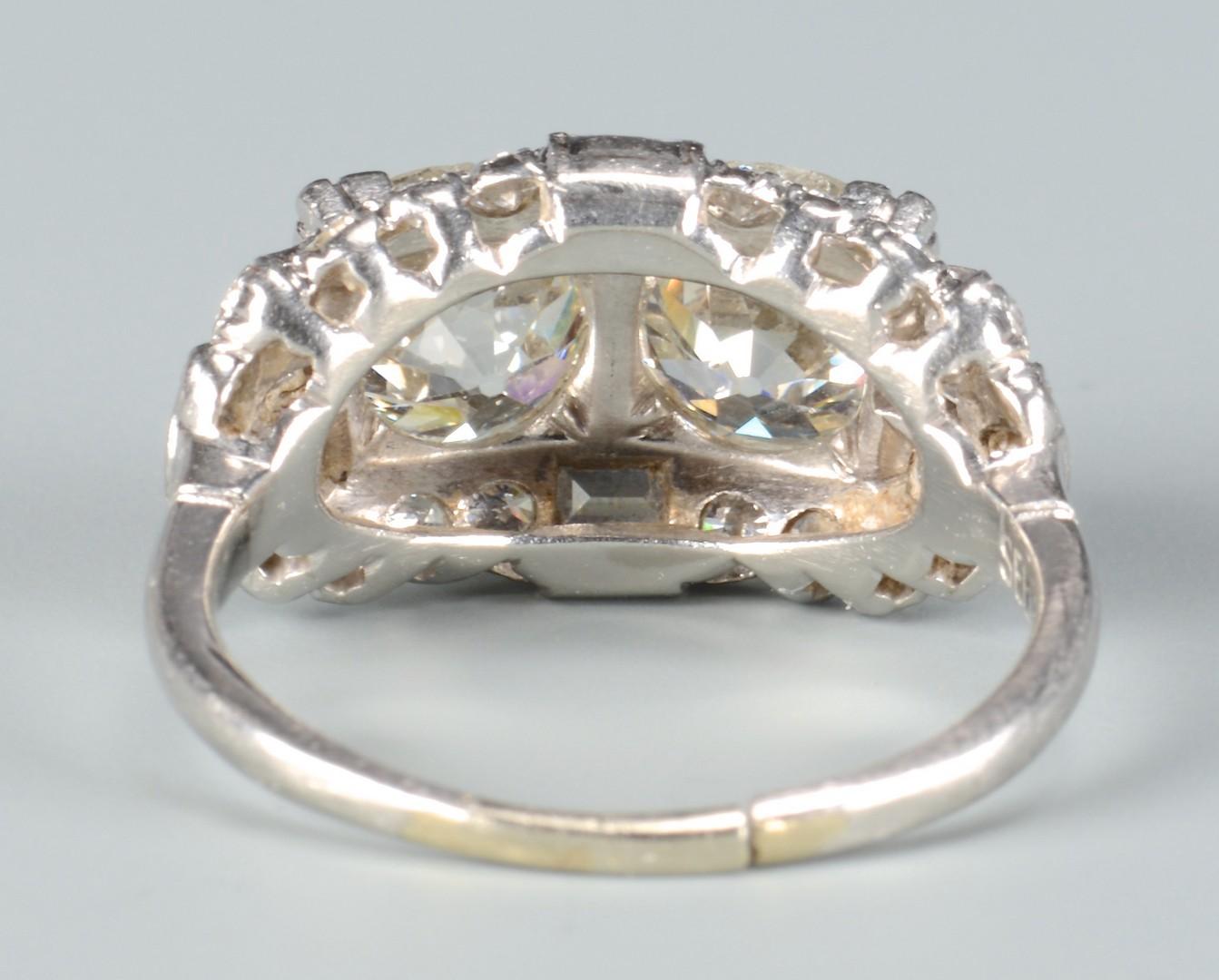 Lot 103: Vintage Old European Cut Dia Ring