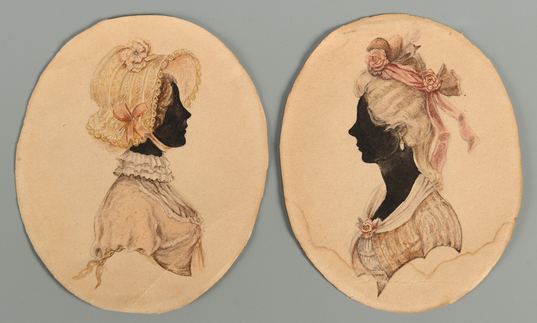 Lot 107: Prussian Royal Portraits, Princesses Louise and Victoria