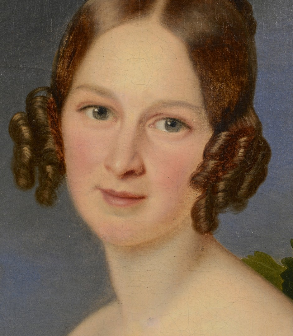 Lot 116: Portrait of Lady in White, Franz Stirnbrand