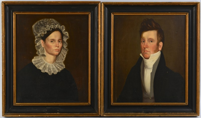Lot 123: Pr. Ralph E. Earl Portraits, Hardy Cryer and Wife