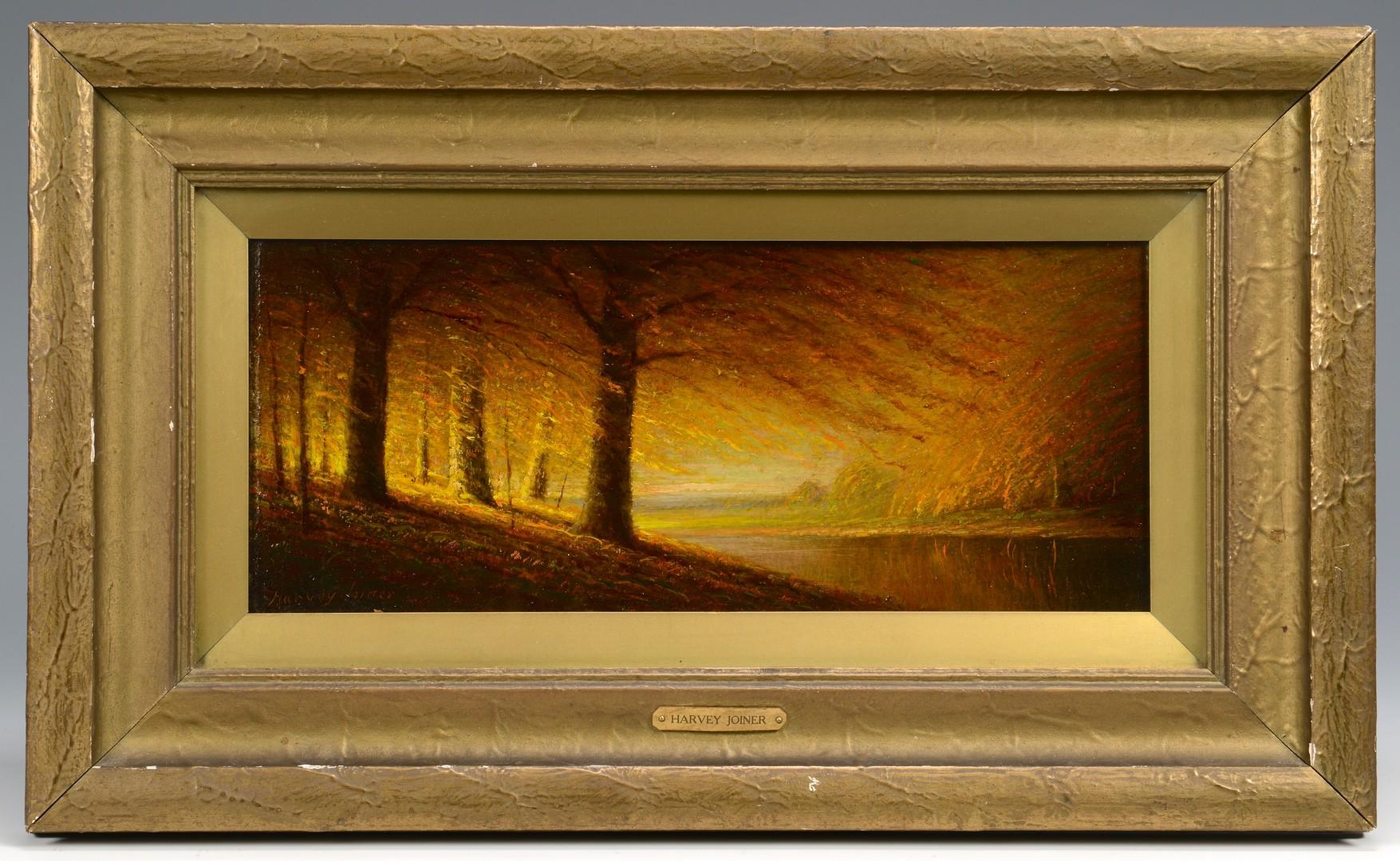Lot 127: Harvey Joiner O/B, Autumn Landscape