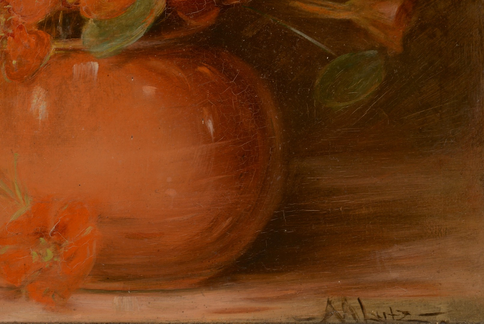 Lot 128: Adelia Armstrong Lutz floral still life