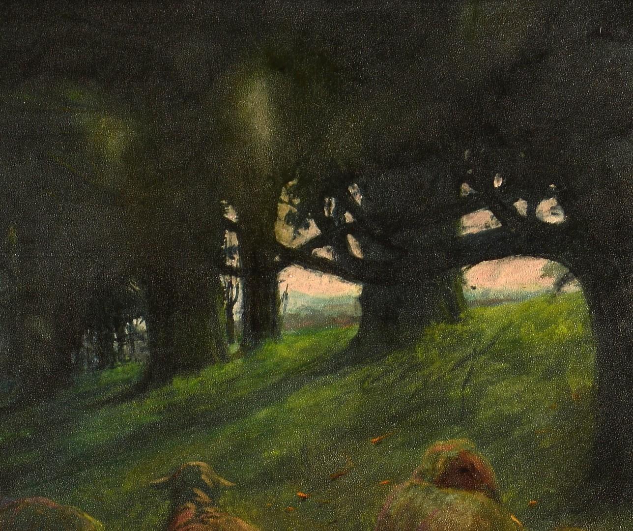 Lot 129: J. W. Wallace, East TN Landscape