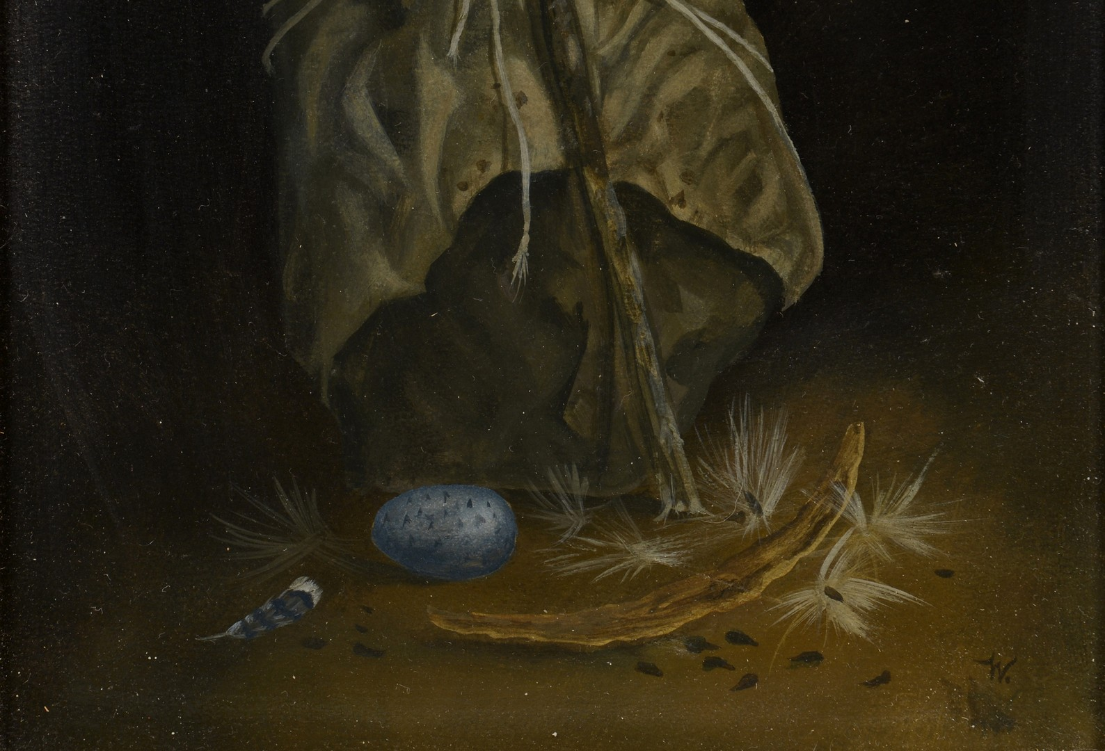 Lot 131: Werner Wildner Still Life Painting